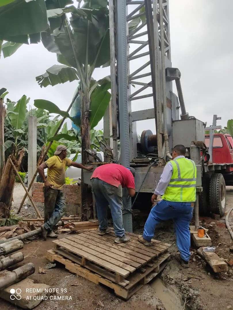 Perforamos pozos de agua en Ecuador