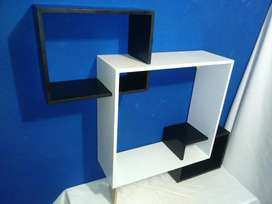 Estante en Forma de Cubo
