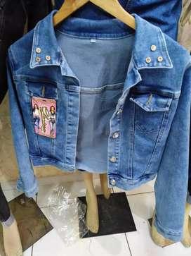 Pantalón jeans y casacas