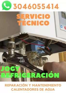 Servicio técnico de neveras lavadora estufas hornos calentador de agua
