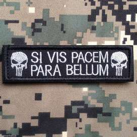Parches Punisher militar tactico