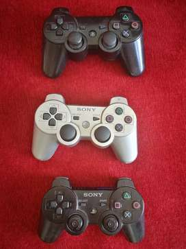 Para repuesto - 3 Joysticks PS3.
