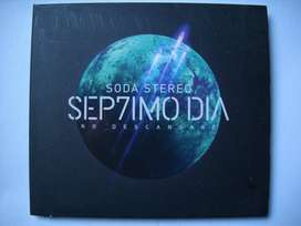 soda stereo septimo dia cd estado aceptable