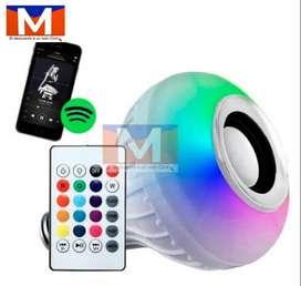 oco Led 12 Colores Con Parlante Bluetooth