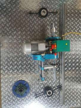 Torno Portátil, Longitud perforación 1500 mm, Diámetro 500 mm