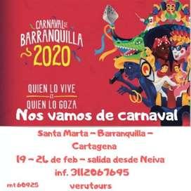 Carnavales y eje cafetero