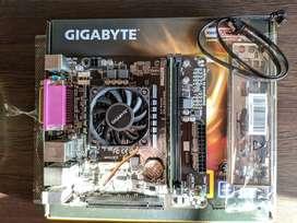 Motherboard Gigabyte E2500N + AMD E1-2500 (1.4 GHz) (APU) + RAM Patriot 4gb (1600Ghz)
