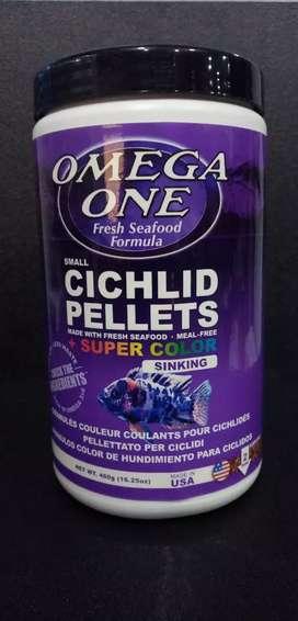 Alimento omega one para ciclidos
