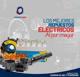 REPUESTOS ELECTRICOS DE AUTOS TOYOTA, MAZDA,NISSAN,CHEVROLET,KIA,HYUNDAI