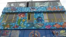 Vendo casa adaptada para colegio o jardín infantil