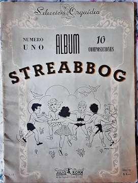 Álbum Nº1 - 10 Piezas De Streabbog Ed. Korn 1945