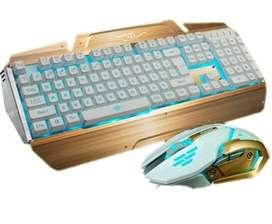 Pc Gamer Mouse Gamer Teclado Gamer Teclado Inalambrico 2700