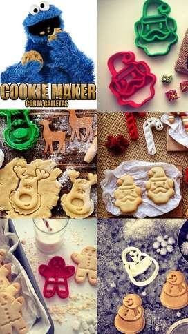 Corta galletas Set navideño