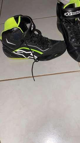 Zapatos para moto