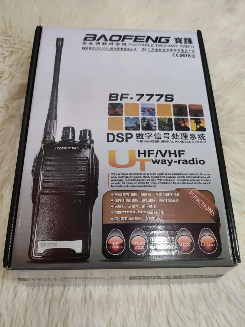Radios de excelente alcance baofeng bf-777s