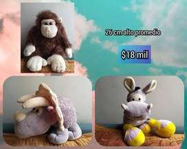 PROMOCIÓN Peluches desde $7mil Llaveros alcancía panda perro burro dinosaurio gorila vaca elefante  regalo de navidad
