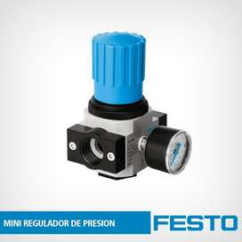 Regulador De Presion Festo, Lr-1/8-d-mini, Original Alemania