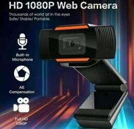 Webcam HD y full HD micrófono incorporado
