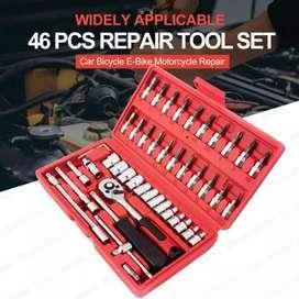 Caja de herramientas de 46pcs