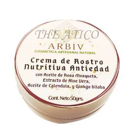 Crema de Rostro Antiedad & Nutritiva
