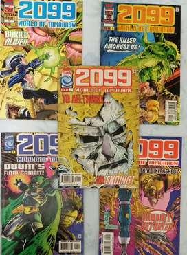 COMICS 2099 WORLD OF TOMORROW SET X 5 EJEMPLARES
