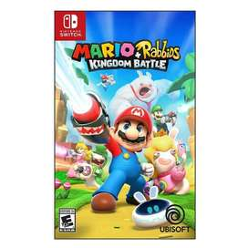 Mario Rabbids Kingdom Battle Nintendo Sw