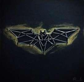 Cuadro Mdf Batman 30x30