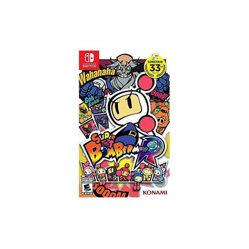 Super Bomberman R Nuevo y Sellado Switch