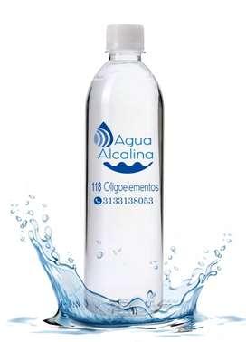 Agua alcalina de mar 20 litros