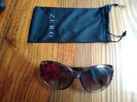 Anteojos de sol lentes oscuros diseño palmeras