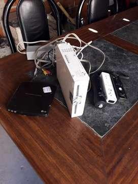 Vendo Wii con juegos vendo o permutu x cel