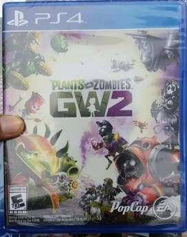 Plantas Vs Zombies 2 Juego Ps4 Nuevo Y Sellado