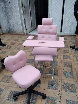 Vendo silla de pedícure en buenas condiciones