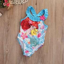 Vestido de baño sirenita para niña