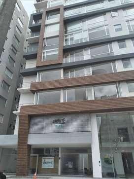 Sector Carolina Departamento Moderno 2 dormitorios, balcon, piso alto Diagonal Parque La Carolina