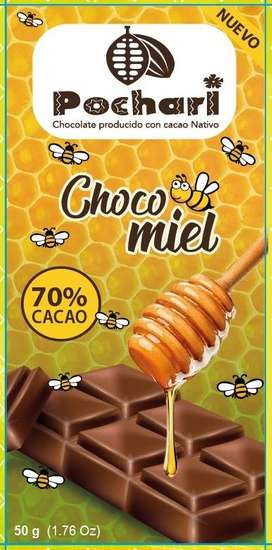CHOCOLATE CON MIEL. CHOCOMIEL