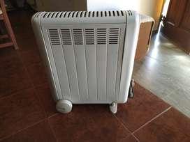 Calefactor eléctrico tipo radiador