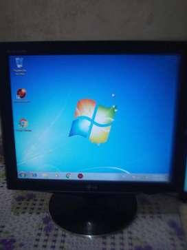 Monitor Lg Lcd 17 Cuadrado L1760sr Exc Imagen Y Estado