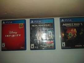 Vendo Juegos de PS4