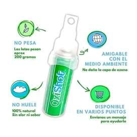 Oxigeno medicinal portatil