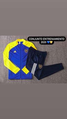 Conjunto azul Boca Juniors 2020/2021