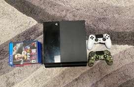 PS4 de 500 GB Con un control y juegos