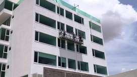 Servicio de Pintado de Edificios y Estructuras Metálicas en Altura