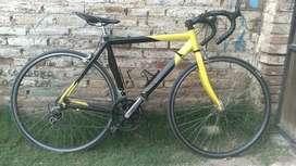 Vendo bici de ruta pantani verona talle 52 rodado 700