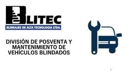 División de Mantenimiento y Servicio Posventa para Vehículos Blindados
