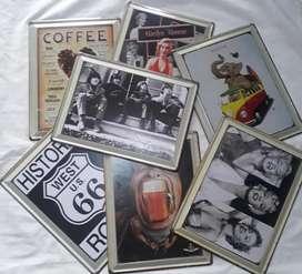 Latas de Colección Letrero Antiguo Placa