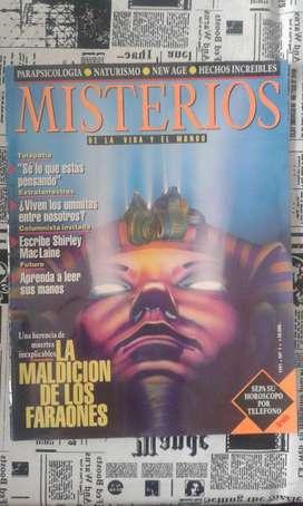 Revista Misterios La Maldición De Los Faraones