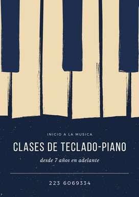 Clases de Piano/ Teclado