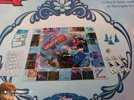 Monopolio Disney Junior Frozen de Hasbro- Juegos de mesa