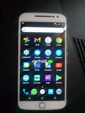 Motorola G4 plus 32 GB de almacenamiento